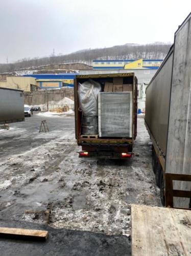 12.02. г. Владивосток, выгрузка 169 контейнера