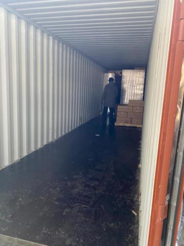 02.02. г. Владивосток, выгрузка 395 контейнера
