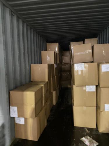 26.01. г. Владивосток, выгрузка 700 контейнера