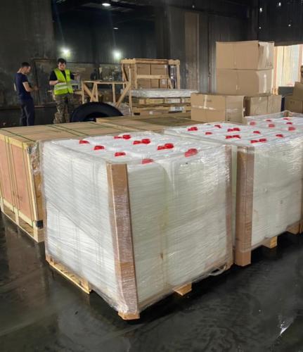 20.07. г. Владивосток, выгрузка 709 контейнера