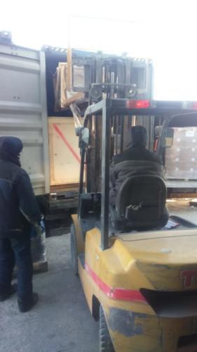 08.02. г. Владивосток, выгрузка 890 контейнера