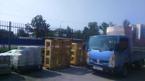 13.07. г. Хабаровск, выгрузка 923 контейнера